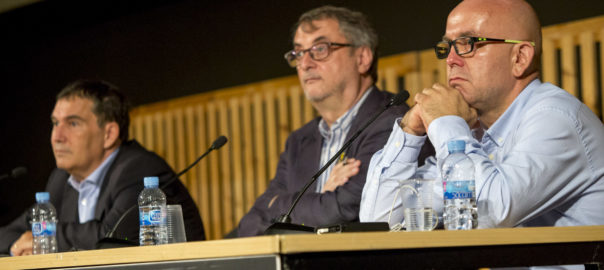 Debat Gonzalo Boye i Jaume Alonso-Cuevillas