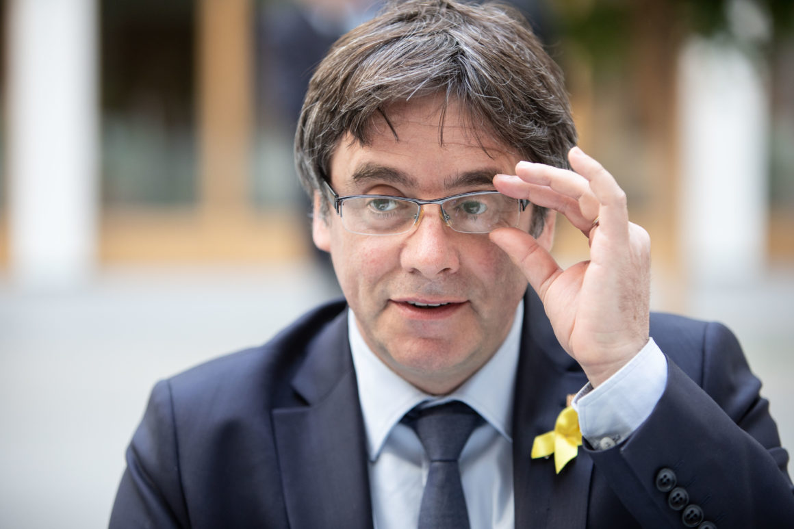 Former Catalan leader Puigdemont on his political and judicial situation